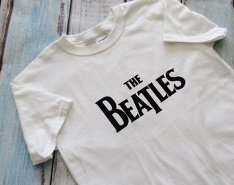 Beatles Shirt Beatles Kids Shirt Kids Shirt The Beatles Shirt The Beatles Ready To Ship Size Size Youth Medium 8-10