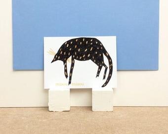 """Carte postale """"Miaou Miaou"""""""