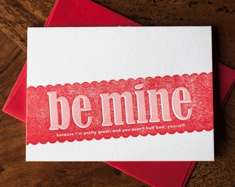 Be Mine (Cause I'm Great) - Card