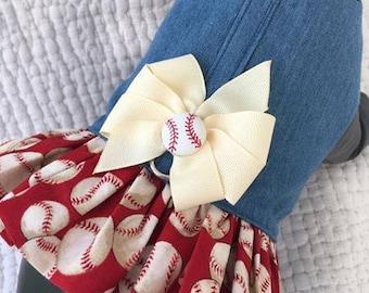 Baseball Dog  Harness Vest for Girl Dog Custom Made