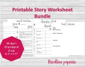 Story Worksheets Printabl...