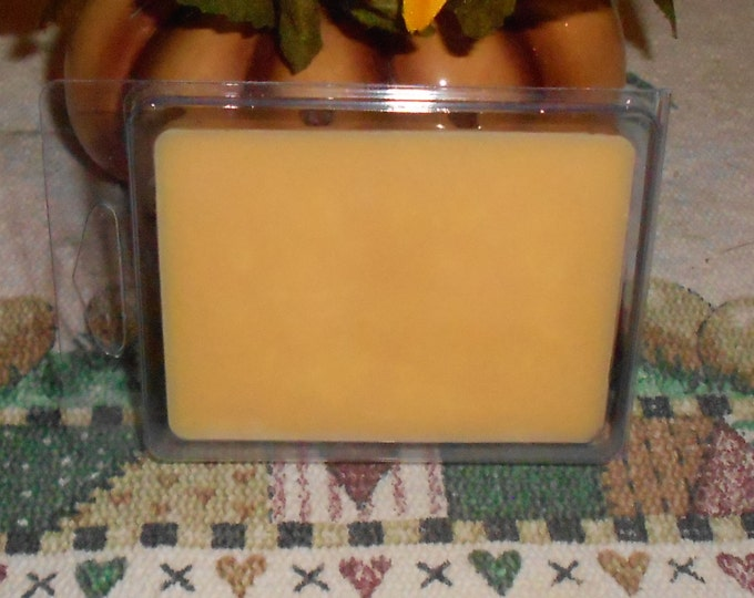 Three Packages of Scented Wax Melts for Wax Melt Warmers: Cantaloupe, Cappuccino Mocha and Caramel Apple