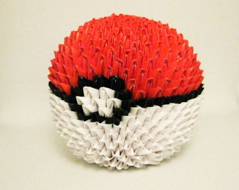 Tabletop 3D Origami Standard Pokemon Ball