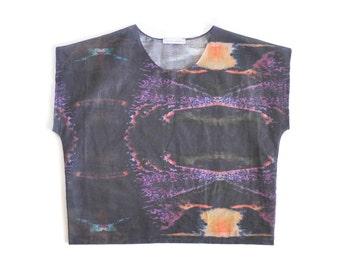 Omi Hand Dyed Cotton Dark Glaze Print Print - Studio Sale