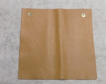 MS511.  Camel Colored Leather Cowhide Remnant