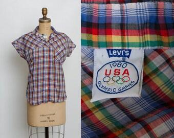 vintage Levi's 1980 USA Olympic Games shirt
