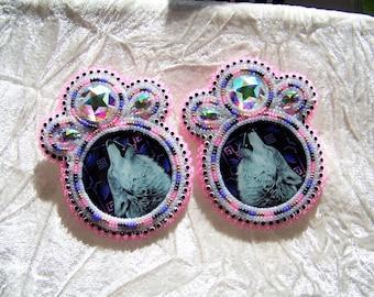 Native American Made- Beaded Earrings
