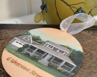 Home Ornament, Custom House Painting