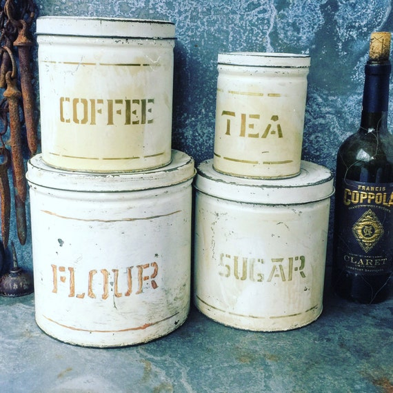 country kitchen canister set flour coffee sugar tea ceramic flower canister set floral canisters flour sugar