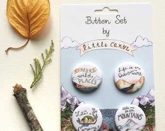 Adventure Button Pack