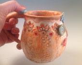 Picasso pottery mug/Pottery mug/picasso/Pablo picasse/coffee mug/ceramic mug/unique mug/handmade mug