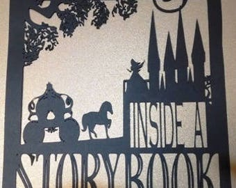 Get lost inside a story book silhouette up to 11x11