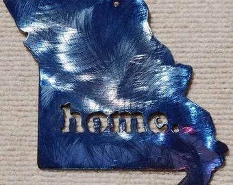 Missouri Home Metal Art