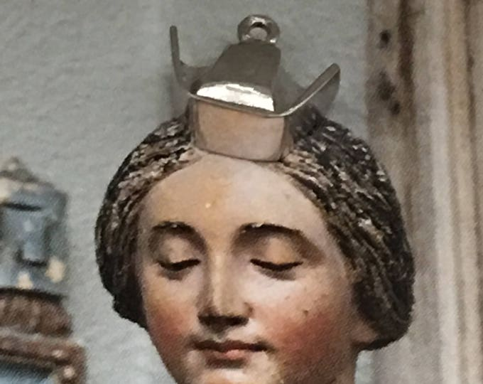 Nurse Hat Charm Sterling Silver Vintage Jewelry for Bracelet Necklace