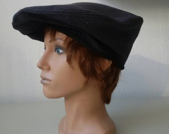 Black beret for men and women