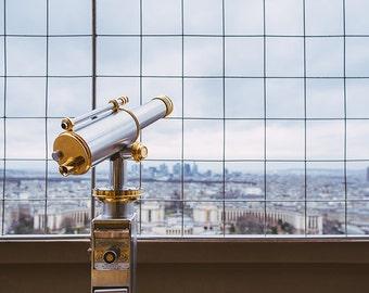 Eiffel Tower Lookout - Paris, France Fine Art Travel Photography Print