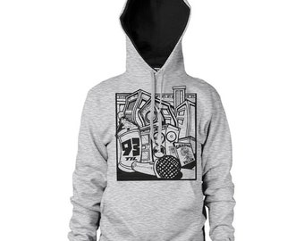 Graphic Villain 93 Til Infinity Hoodie  - Free Shipping!
