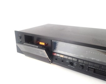 Tape Player vintage CASSETTE tape PLAYER excellent condition playback record, receiver stereo component mid 90s vintage with Owner's Manual
