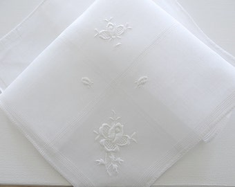 Exquisite Wedding Handkerchiefs And Linens By Linenwhites