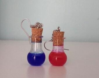 Potion Bottle Earrings
