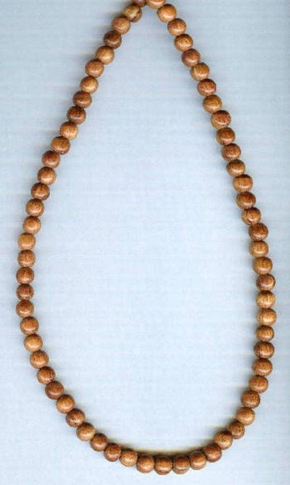 Stunning High Quality Bayong Wood Beaded Bracelet or Necklace
