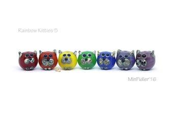 Rainbow Cat Beads, Set 5