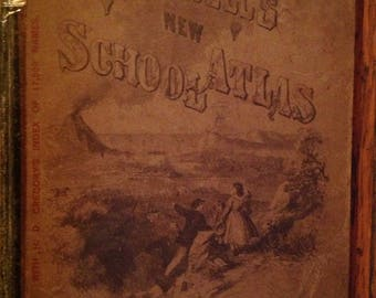 1871 Mitchell's New School Atlas Butler & Co.  Maps