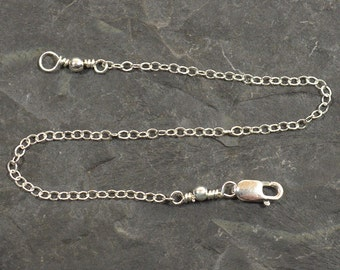 Sterling Silver Necklace Extender - Choose Your Length