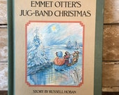 Vintage Book Emmet Otters Jug Band Christmas 1971