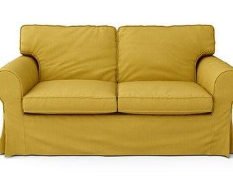 Custom Ikea Ektorp Sofa Slipcover 3 Seater In Rouge Ash