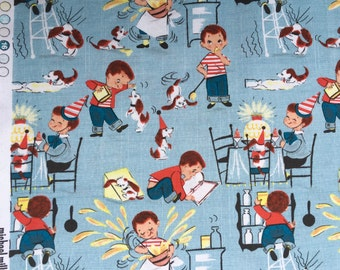 Little Chef Michael Miller fabric FQ or more