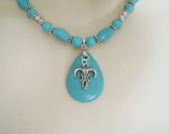 Turquoise Necklace, turquoise jewelry southwestern jewelry southwest jewelry native american jewelry style country western cowgirl rodeo
