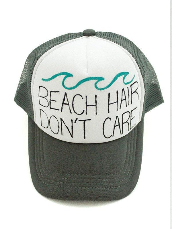 Beach Hair Don't Care Trucker Hat
