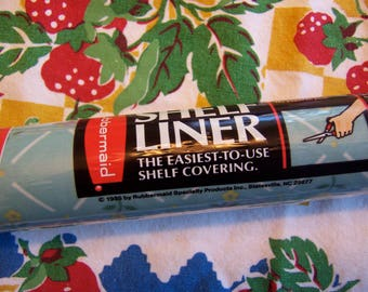 vintage rubbermaid shelf liner