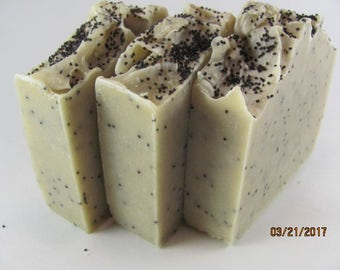 BEETROOT PURE & PUPPY Seed Soap. Unscented. Vegan Soap. Organic. Handmade Soap. Homemade. Moisturizing. Sensitive skin soap