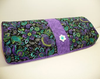 Silhouette Cameo 3 Cover - Purple Paisley  - Quilted Cameo 3 Cozy