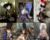 Custom Art Doll LuLu Style OOAK Made to order