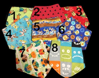 Drool Bandana Bibs for babies, dolls, or small pets