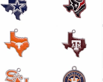Dallas Cowboys, Houston Texans, Texas A&M, Texas Longhorns, Sam Houston State Charm