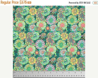 On Sale Daisy Shine in Citrus Fabric from the True Colors Collection by Amy Butler - Half Yard