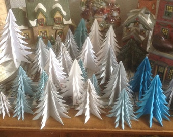 Origami Trees 8 included