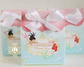 Mermaid Favor Box Set by Loralee Lewis