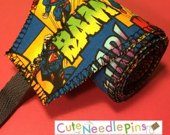 Free Shipping to the US* CrossFit Wrist Wraps - Superman - DH