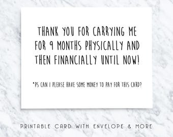 funny mom card, funny mum card, digital mom card, funny digital card, mothers day card, thanks mom card, hilarious mom card