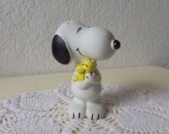 """Snooopy and Woodstock Squeak Toy, 1972. 5 1/2"""" Tall."""