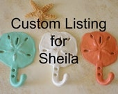 Custom Listing for Sheila