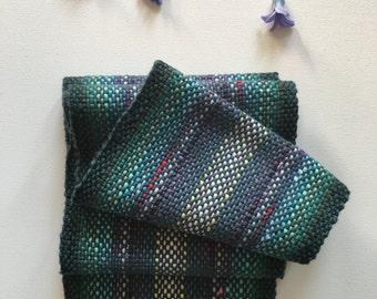 Organic Cotton Handwoven Scarf