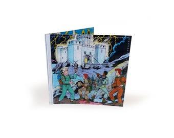 Ghostbusters Wallet -  Vintage Comic Book Page in Vinyl - Scotland