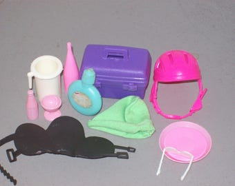 Vintage Mixed Lot of Barbie Doll Accessories Dollhouse Miniatures
