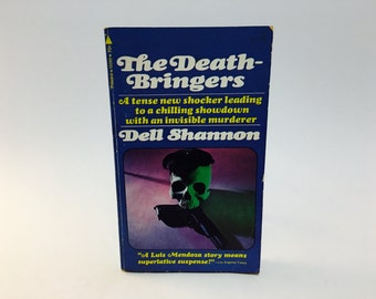 Vintage Mystery Book The Death-Bringers by Dell Shannon 1970 Paperback